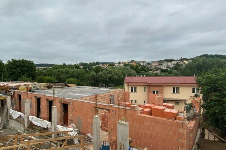 Dokončení 1. nadzemního podlaží – BD Mastník